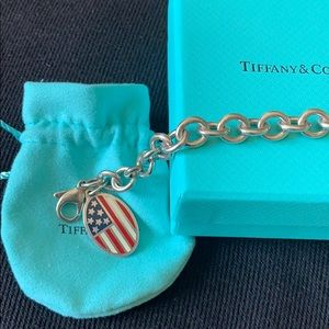 Tiffany & Co. Jewelry - Vintage Return to Tiffany & Co flag bracelet